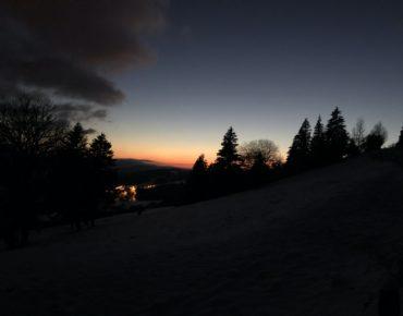 Rando nocturne glaciale